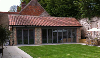 External Bifold Doors Devon