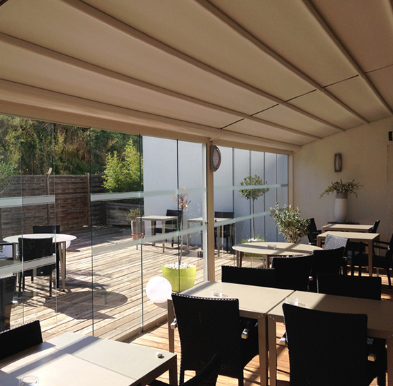 \ Provide your customers with the ultimate alfresco dining experience this summer- install high quality bifold doors which let the outside in and flood your ... & Bifold Doors Devon | Bifold Doors for Restaurants