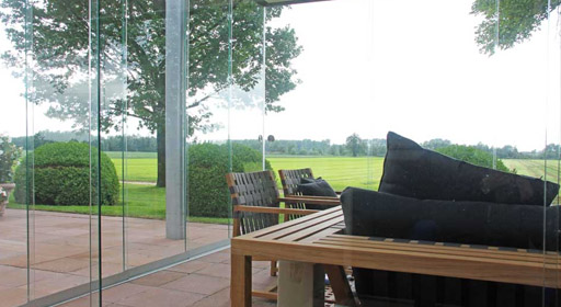 Sunflex Sliding Doors Devon Frameless Sliding Doors Devon Bifolding Patio Doors Devon ... & Frameless Sliding Doors Devon